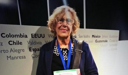 Manuela Carmena quiere que los universitarios barran Madrid